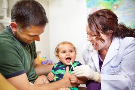 baby first dentist visit