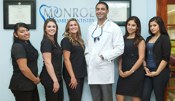 monroe dentist office staff