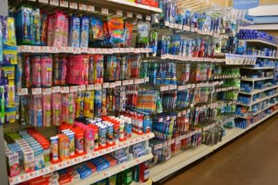 toothbrush aisle