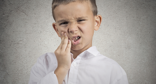 Child with toothache